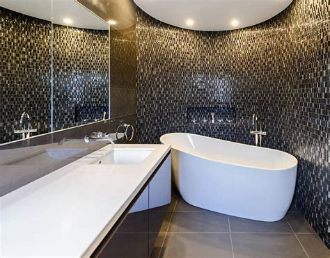 gambar desain dinding kamar mandi 32 model kamar mandi hotel mewah minimalis terbaru 2018