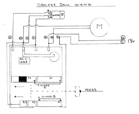 electric drill switch wiring diagram efcaviation