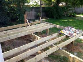 How To Build A Patio Step by Building A Deck Step By Step Driverlayer Search Engine