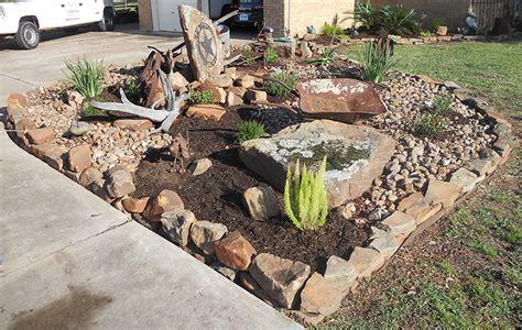 cactus rock garden katy landscaping