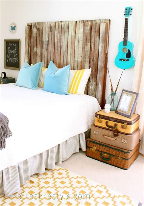 Diy Bedroom Makeover Before And After Bedroom Makeover Diy Repurposed And Painted Furniture
