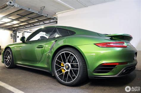porsche racing green racing green 991 facelift porsche