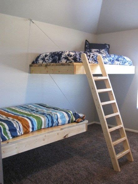 Floating Bunk Beds Pin By Burgio On Brady