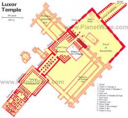 map temple 14 top tourist attractions in luxor easy day trips