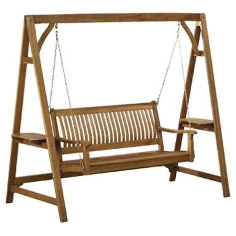 wooden garden swing chair a well outdoor seating and chairs on pinterest