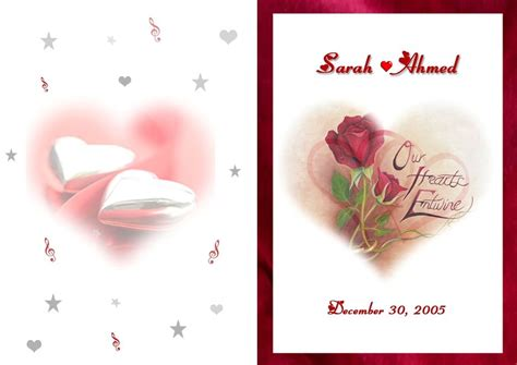 Wedding Card Cover Page by Wedding Cards By Ingy Elgebaly At Coroflot