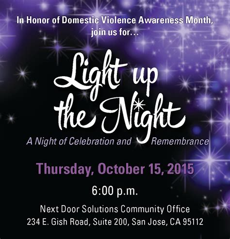 Next Door Solutions by Light Up The San Jose Ca On Thu Oct 15 2015 At