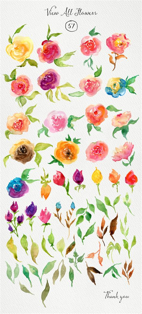 flower pattern for painting watercolor roses diy watercolor and creative