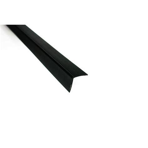 trafficmaster   vinyl stair edging black
