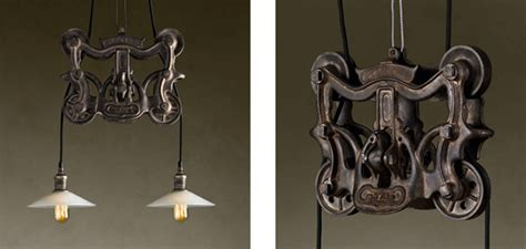 Light And Shade by Cast Iron Barn Door Trolley Pendant Gearculture