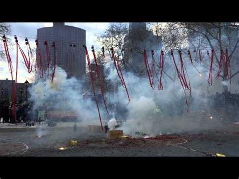new year firecracker ceremony nyc 2015 chinatown lunar new year firecracker ceremony feb 19