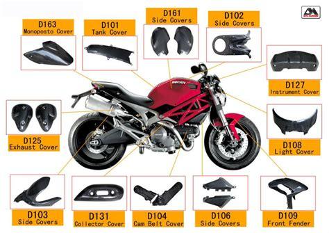Motorradteile Namen by Kohlefaser Motorrad Teile F 252 R Ducati Monster 696 Teile Des