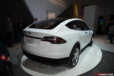 Tesla Model X 2015 Ces 2015 Tesla Model X Gtspirit
