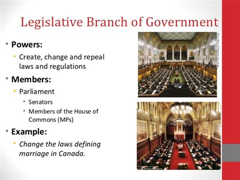What Is The Role Of Cabinet Members Branches Of Canadian Government
