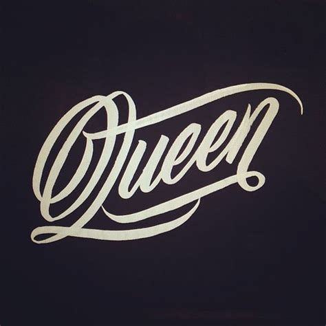 queen tattoo fonts erik marinovich calligraphy lettering arts beautiful