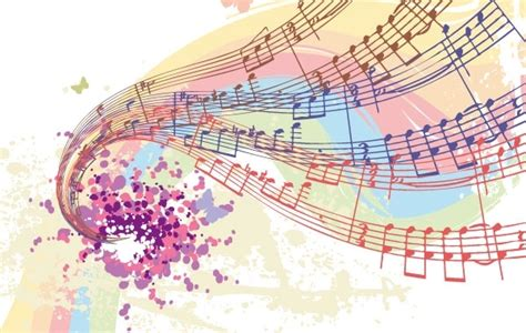 Imagenes Religiosas Musicales | free vectors colorful musical notes free vector