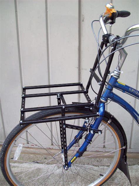 Front Bike Racks by Guest Article S Diy Quot Porteur Quot Rack Bikecommuters