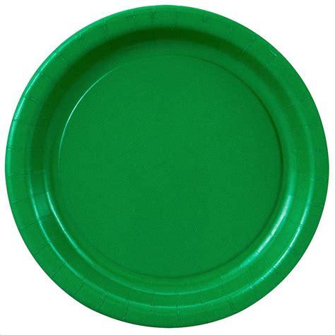 Paper Plates - green paper plates 8 5 8 quot