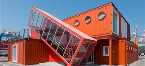 shipping container shipping container offices are right at home on an