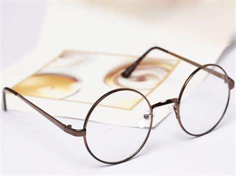 Kacamata Bulat Klasik kacamata retro bulat fashion wanita black jakartanotebook