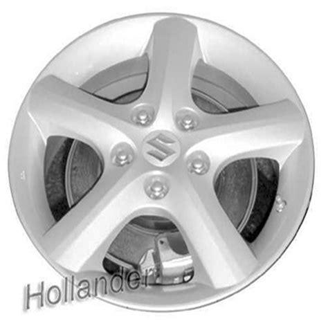 2009 Suzuki Sx4 Tire Size 2007 2009 Suzuki Sx4 Wheels Silver Rims 72697