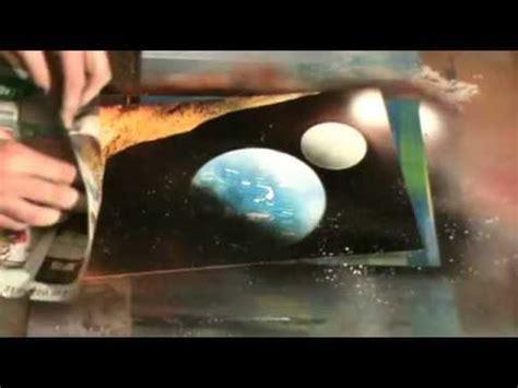 spray paint earth planet earth moon mini spray paint tutorial