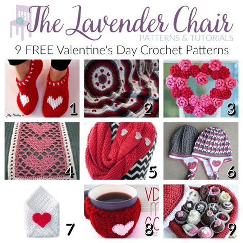 valentines day crochet patterns free s day crochet patterns the lavender chair