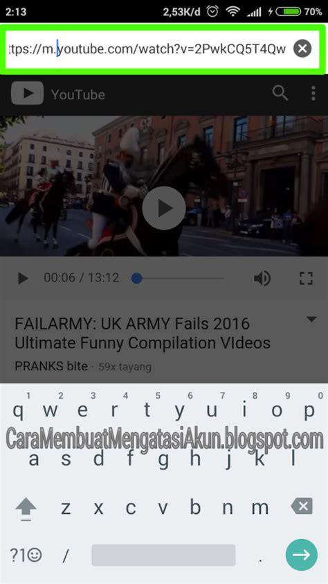 download youtube pakai hp cara download video youtube di android dengan tanpa aplikasi
