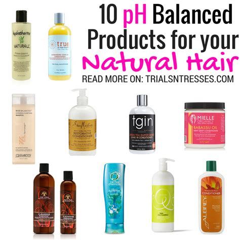 ph level in black hair 10 ph balanced products for your natural hair products
