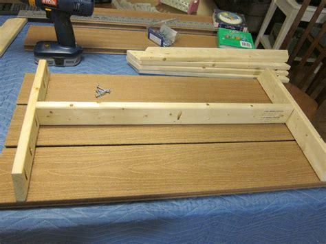 ana white compositeplastic wood preschool picnic table