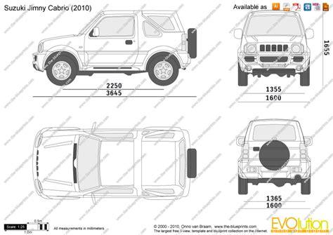 the blueprints com vector drawing suzuki jimny cabrio