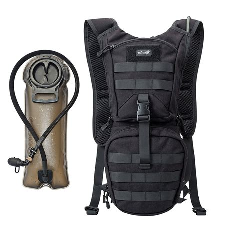 Rumere 25 5l Rolltop Backpack 2 mopaclle tactical hydration pack backpack with 2 5l bpa free water bladder for cycling climbing
