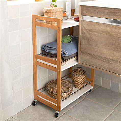 carrello per bagno sobuy 174 carrello cucina scaffale da bagno carrellino