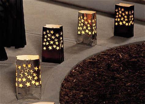 How To Make Paper Luminaries - image gallery paper bag luminaries