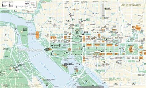 washington dc in usa map washington d c in 2 days roo the world
