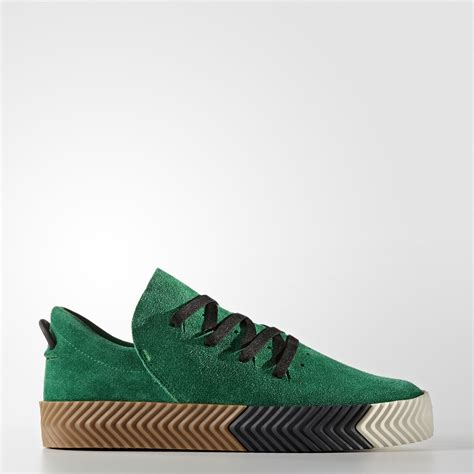 adidas aw skate wang quot green quot shoe engine