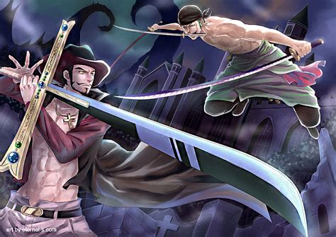 dracule mihawk one gold