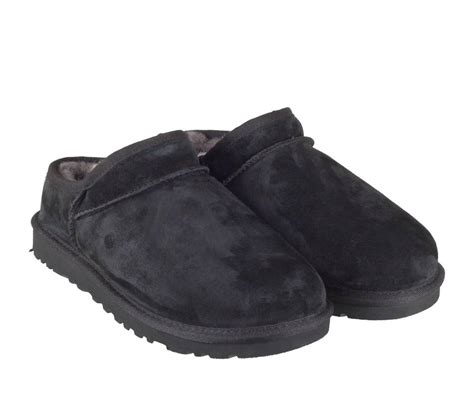 black slipper shoes ugg classic slipper 1009249 slippers black