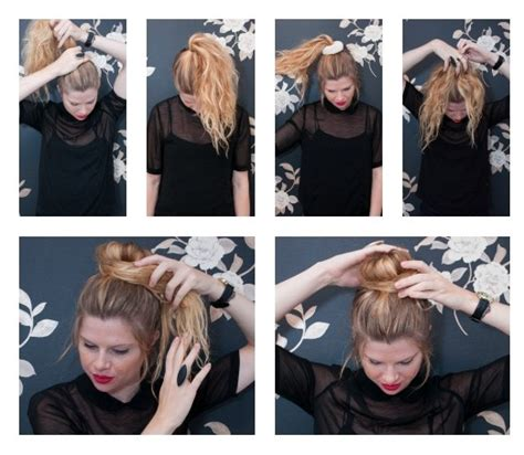 different ways to use donut bun discover the secret to the perfect sock bun for short hair