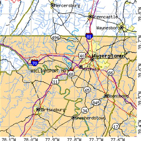 Us Search Maryland Hagerstown Md Zip Code Map Search Results Dunia Photo