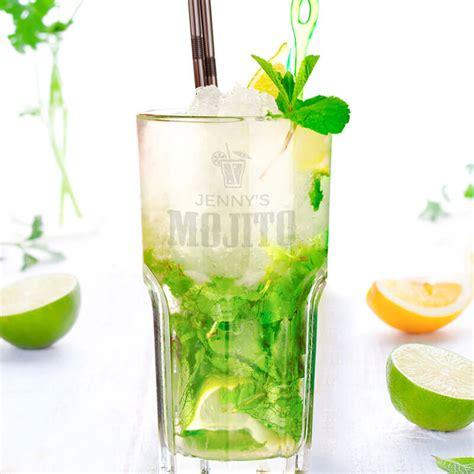 Mojito Glasses Personalised Mojito Glass Buy From Prezzybox