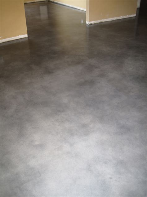 stained concrete flooring living room flooring options