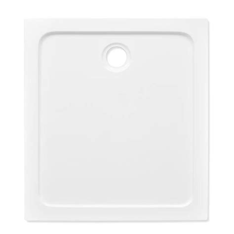 piatto doccia 80 x 90 piatto doccia rettangolare in abs bianco 80 x 90 cm