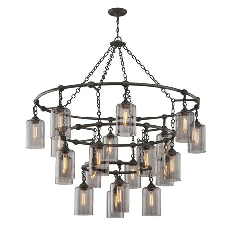 Gotham Lighting by Troy Lighting Gotham 20 Light Aged Silver Pendant F4426