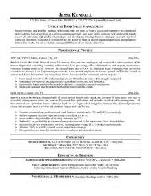 exle branch sales manager resume free sle
