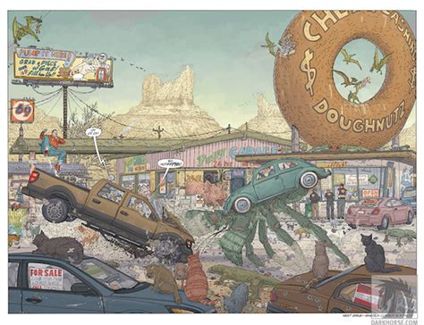 shaolin cowboy wholl stop b076b12g38 geof darrow talks action mayhem and shaolin cowboy who ll stop t