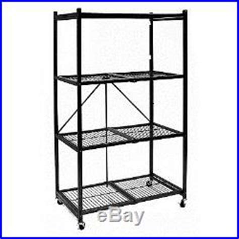 origami organizational rack origami portable folding shelf unit storage metal rack