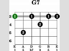 G7 - Guitar G 7 Chord Guitar