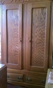 495 antique oak knockdown wardrobe for sale in cicero
