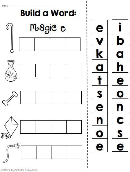 Cvce Worksheets by Magic E Vowel Cvce Phonics Word Work Printables Word Work Words And Printables
